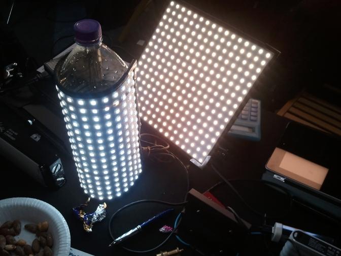 Flexible LED panel